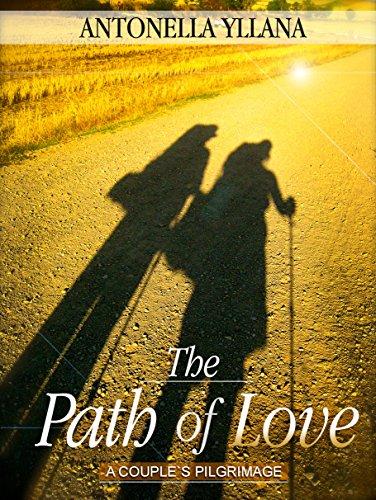 capa do livro 'The path of love' de Antonella Yllana - Edição portuguesa